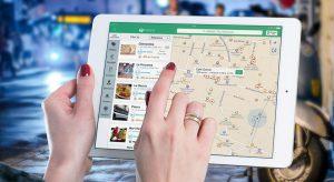 Apple Maps on ipad